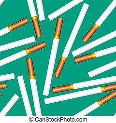 Cigarette seamless pattern