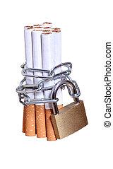 cigarettes, capturé