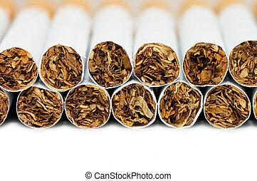 Cigarettes  isolated on white background