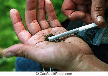 cigarrillo, marihuana