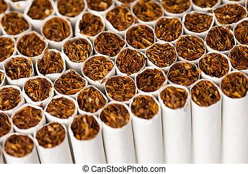 cigarrillos, línea de montaje