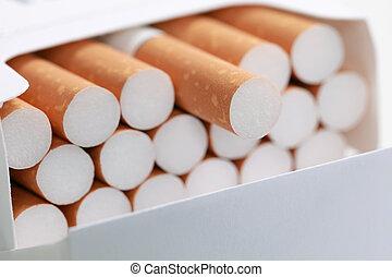 cigarrillos, paquete