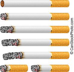 cigarros, jogo
