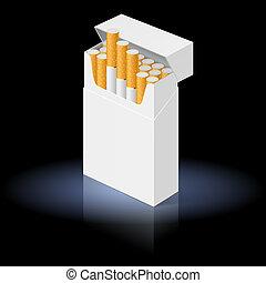 cigarros, pacote