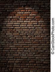 cihlový stěna