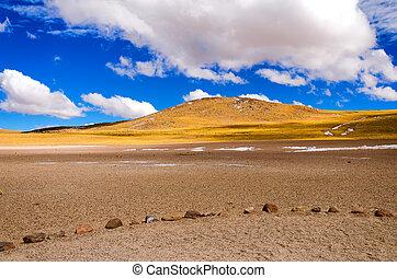 cileno, paesaggio, vista