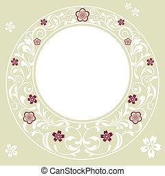 ciliegia fiorisce, fondo