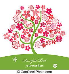 ciliegia fiorisce