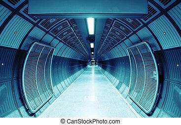 cilindro, túnel