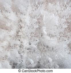 cima, campo gelo, fundo, fim, transparente