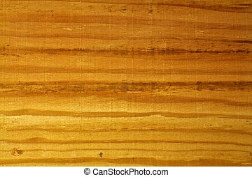 cima, de, grão madeira, bordo