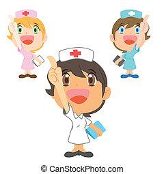 cima, refers, infermiera
