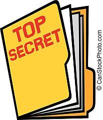 cima segreto, cartella