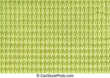 cima., tecido, luz, macro., textura, verde, fleecy, fundo, fim, macio, tecidos