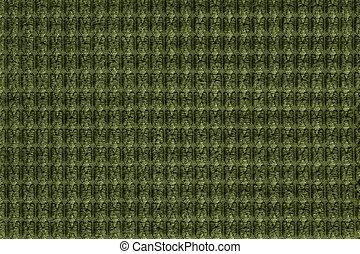 cima., tecido, macro., textura, verde escuro, fleecy, fundo, fim, macio, tecidos