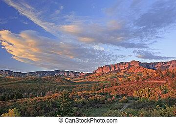 Cimarron Ridge, Uncompahgre National Forest, Gunnison...