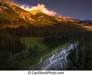Cimarron River San Juan Mountains
