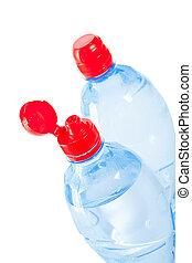 cime, bottiglie, due