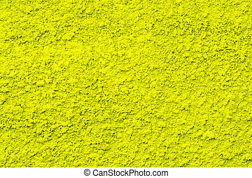 ciment, fond, mur, jaune