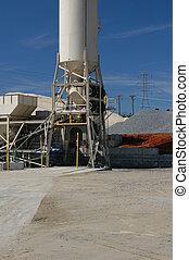 ciment, silo