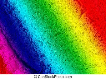 cimento, colorido, fundo, textura