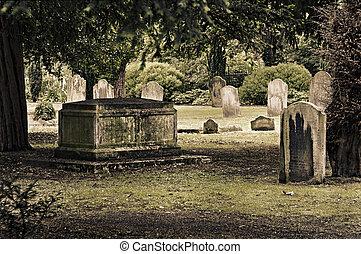 cimetière, anglaise