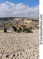cimetière, jérusalem, ancien