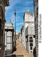 cimetière, recoleta, buenos aires, argentin