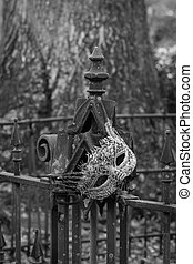 cimitero, lavoro ferro