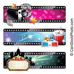 cinéma, bannières