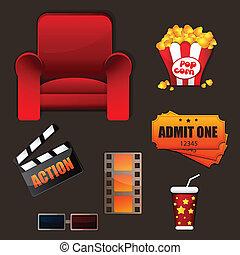 cinéma, icônes