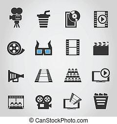 cinéma, icons4