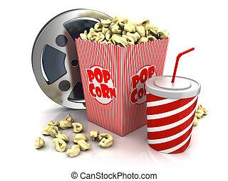 cinéma, théâtre, objets