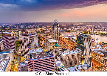 Cincinnati, Ohio, USA Skyline