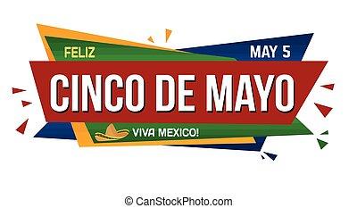 Cinco de mayo banner design