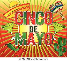 Cinco de Mayo Colorful Design