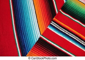 Cinco de mayo Mexican Mexico rug poncho fiesta background with stripes