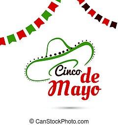 Cinco De Mayo With Sombrero