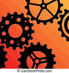 cinco, gearwheels