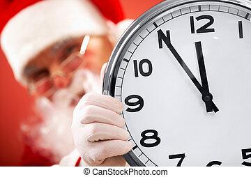 cinco, minutos, navidad
