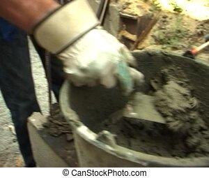 cinder block work - the cinder block work making process