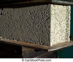 cinder blocks strength test - strength test for cinder block...