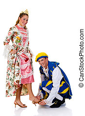 Cinderella and prince, Halloween - Halloween costume,...