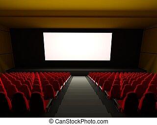 cine, asientos