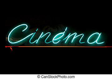 cine, señal