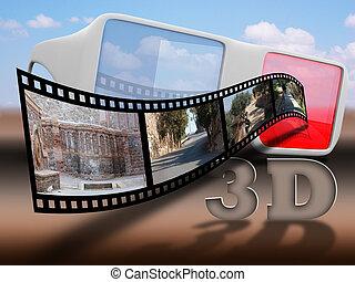 cine3d, cielo, ultimo, con