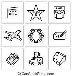 Cinema and Glory icons
