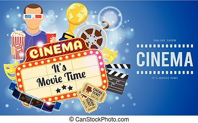Cinema and Movie Banner