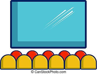 Cinema auditorium Clipart and Stock Illustrations. 3,209 ...