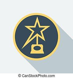 cinema award icon